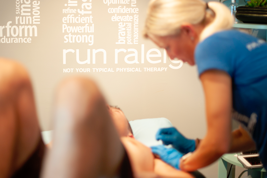 run Raleigh physical therapy dry needling